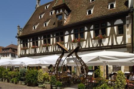La Façade du bâtiment datant de 1553.